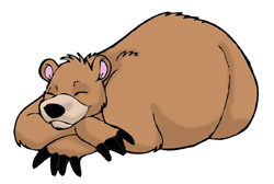 clipart_sleepingbear